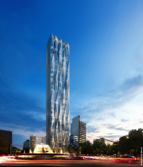 New Faceted Skyscraper In Mexico City Reforma 432
