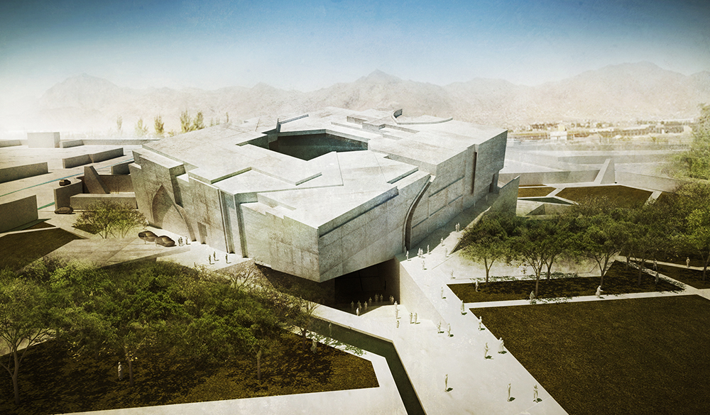 New National Museum Of Afghanistan Evolo Architecture