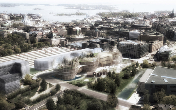 architecture competition, helsinki library, Djuric+Tardio Architectes, multi-program building, wood architecture, public architecture, library design, finnish architecture