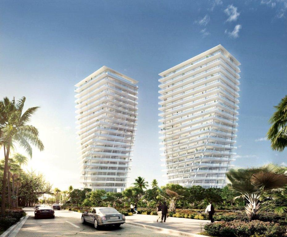The grove at grand bay residences in miami by bjarke - Bay architecture ...