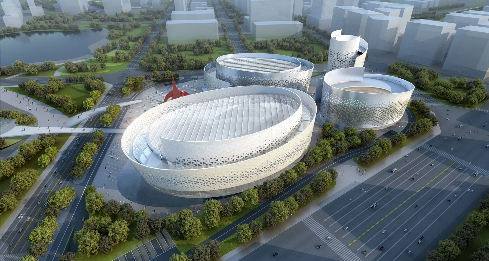 New Performing Arts Complex In Chengdu China By Fuksas