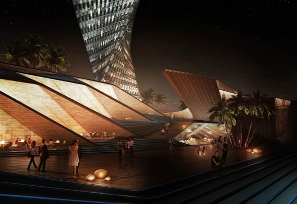 Xiamen Dream City, SDA, Synthesis Design + Architecture, Xiamen city, China, parametric design, parametric skyscraper, mixed-use, sustainable design, eco architecture, urban landscape, waterfront, beachfront