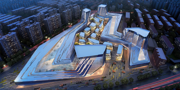 Shanghai Wuzhou International Plaza Sda Sda Synthesis Design Architecture Shanghai