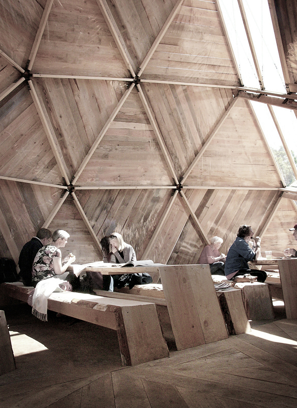 geodesic dome, dome, Danish National Association for Social Housing, housing of the future