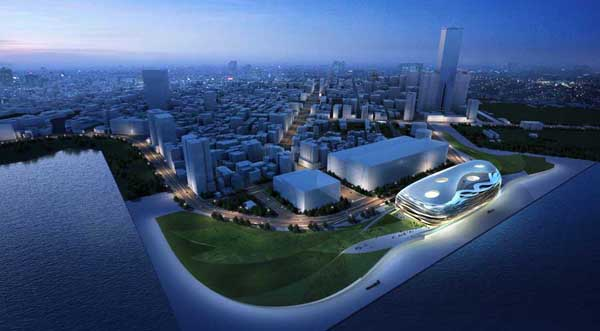 Kaohsiung Port Terminal, RTA-Office, Kaohsiung, Port Terminal, architectural competition, Taiwan, Santiago Parramon, titanium cladding, flexibility, sustainable design