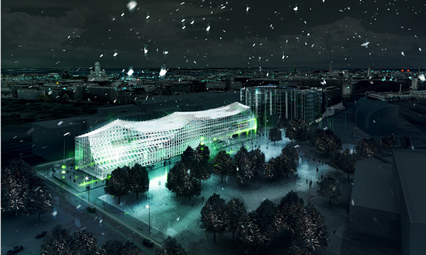 Helsinki Central Library, PAR | Platform for Architecture + Research, Arup, Helsinki, Finland, adaptable design, architectural competition, environmental awareness, flexible design, sustainable design, zero carbon emission