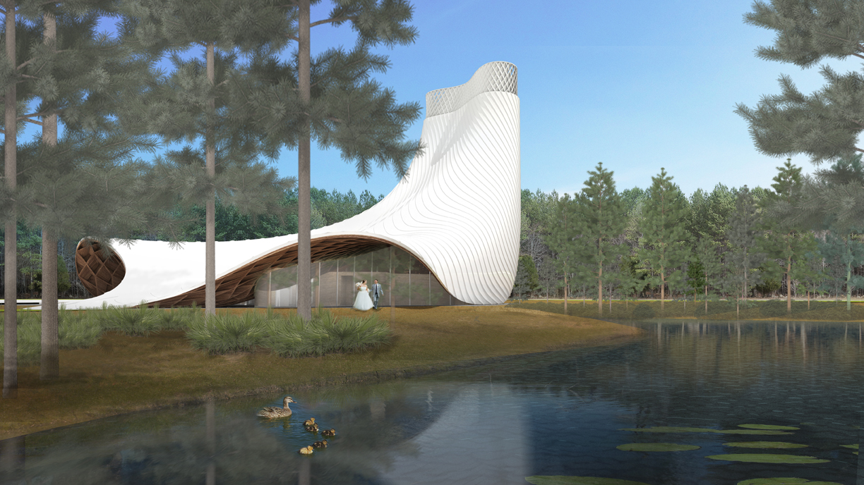 Brooks scarpa with kzf design proposal for the new Architect florida