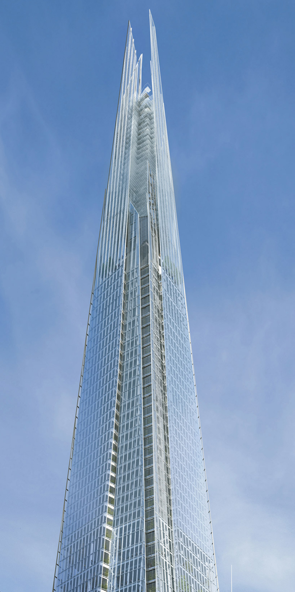 The Shard, Renzo Piano, London, England, Sellar Property Group, mixed-use, skyscraper, high-rise, tower, active façade, winter garden