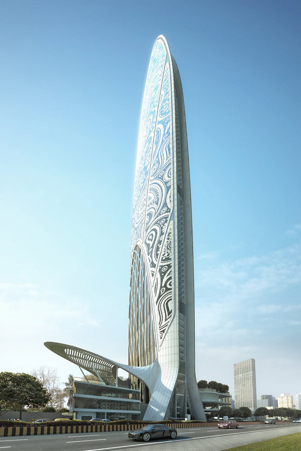 Namaste Tower Mumbai India WS Atkins Dubai Energy Efficiency