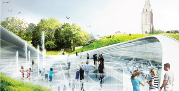 Diller Scofidio + Renfro, Aberdeen, Scotland, architectural competition, international competition, winning design, urban transformation, cultural facilities