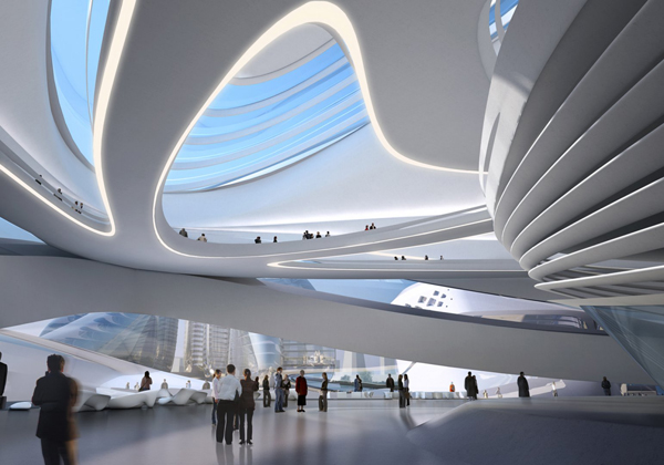 Changsha Meixihu International Culture Art China Zaha Hadid Architects
