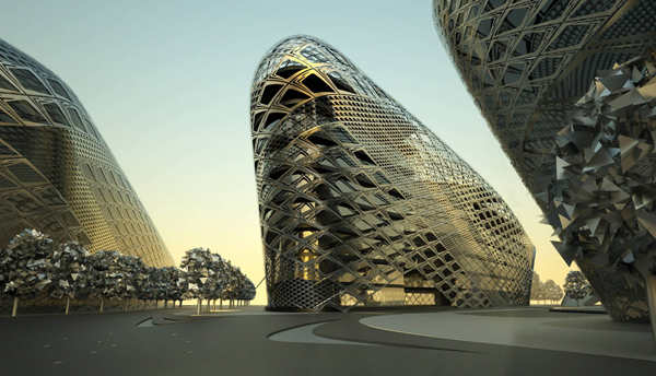 ThyssenKrupp, ThyssenKrupp Headquarters, Zaha Hadid, Zaha Hadid Architects, architectural competition, administrative buildings, Essen, Germany
