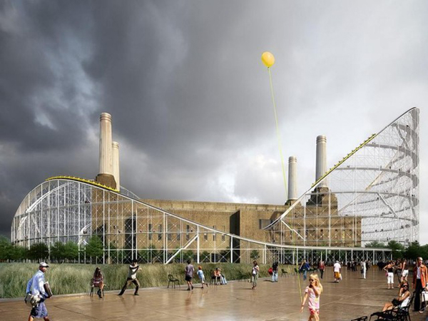 Atelier Zündel Cristea, AZC, ArchTriumph , The Architectural Ride, London, Great Britain, architectural competition, museum design, rollercoaster, Sir Giles Gilberts, spectacle architecture, public buildings