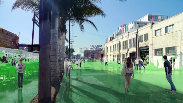 Greenoplasty, Cleantech Corridor, Green District, Los Angeles, United States, Sériès et Sériès, urban planning, sustainable design, green design, green architecture, metropolis, vertical garden