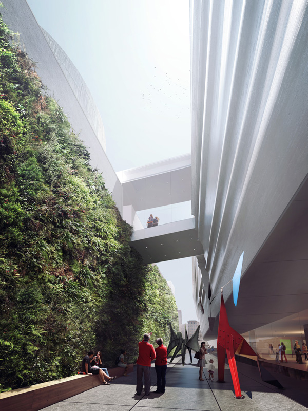 SFMOMA, San Francisco, US, Museum of Modern Art, Snøhetta, Craig Dykers, Mario Botta, museum expansion, living wall, museum design
