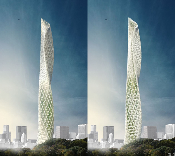 Taiwanese wind tower by decode urbanism office evolo Wind architecture