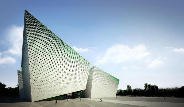 Saraiva + Associados, Awaza Congress Center, congress center, Turkmenistan, landmark architecture, iconic building, monument, public facilities, open spaces