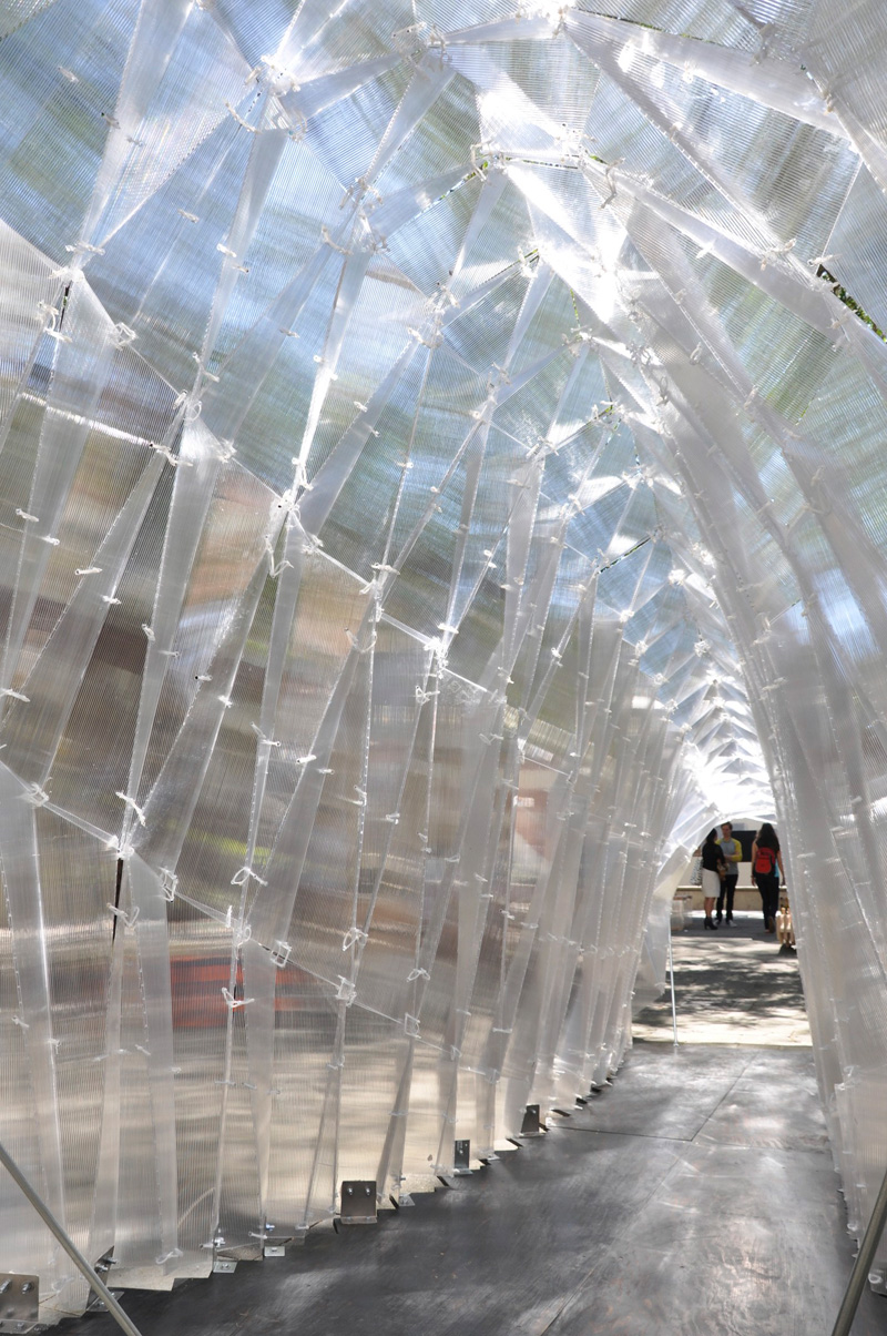 Glass Pavilion At Usc School Of Architecture Evolo