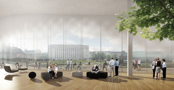Helsinki Central Library, ALA Architect, Helsinki, Finland, architectural competition, first prize, wooden façade, urban attraction, public facilities