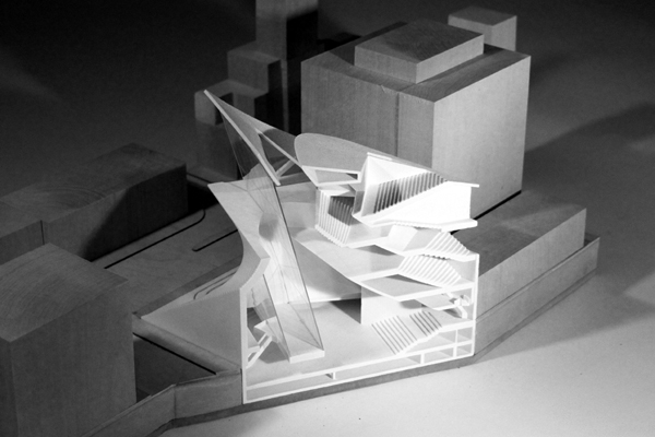 Center for Contemporary Cinema, Los Angeles, US, Advanced Graduate Studio, Amir Mikhaeil, H.I.Feldman Prize at Yale, Yale School of Architecture, Gilles Deleuze, cascading form