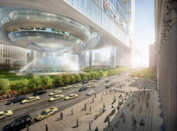 Som S Dramatic Proposal For Penn Station And Madison