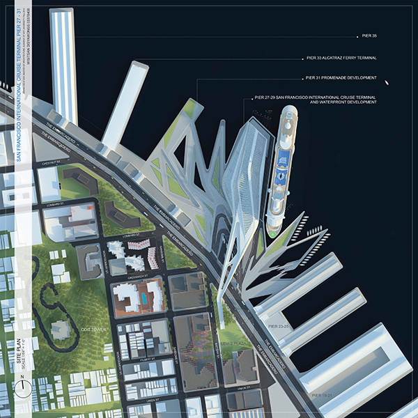 cruise terminal design thesis Rethinking san diego's urban landscape / john mccutchen jonathan massie blew away the competition in his design for a cruise ship terminal in nassau, the bahamas, that could just as easily be.