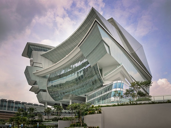 The star performing arts centre completed in singapore for National centre for the performing arts architecture