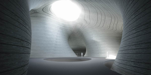 Pingtan Art Museum, Asia, MAD Architects, Comprehensive Experimental Zone, island, museum design, cultural facility, organic form, floating structure, concrete shell