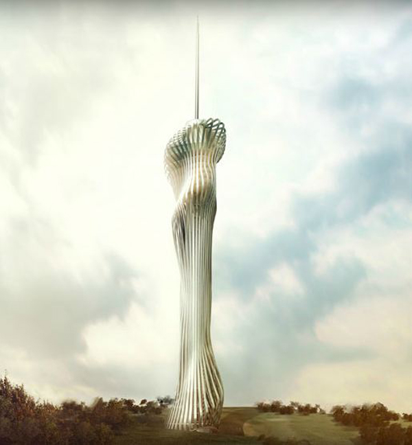 RTA Office, Santiago Parramon, Istanbul, Turkey, Telecommunication Tower,  High Rise,