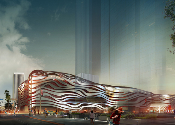 Wrapped In Metal Ribbons, New Petersen Automotive Museum Has Been Finally Revealed