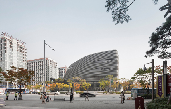 Seoul, South Korea, Korea, NADAAA Inc, Model Home Gallery, black box, mixed-use, public facility, public amenities, office building