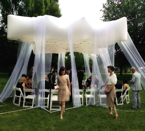Floatastic, qastic, helium, new haven, Connecticut, us, pavilion, wedding, floating pavilion, veils