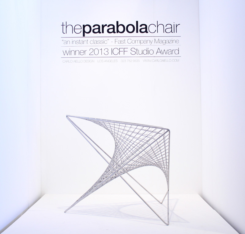 The Parabola Chair designed ...  sc 1 st  eVolo & Parabola Chair Is An Instant Classic: A Stainless Steel Modern Chair ...