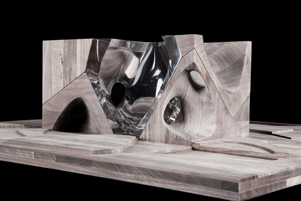 Dolls House Zaha Hadid Architects Disabled Children KIDS Organic Form Assemblage