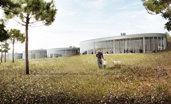 BIG, big architects, bjarke ingles, museum, architectural competition, competition, France, Montpellier, museum of human body, Cité du Corps Humain