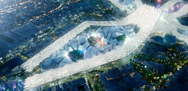World Expo, Dubai, United Arab Emirates, Emirates, Zaha Hadid, expo, Izmir, Turkey, sustainable design, HOK, Populous, ARUP, master plan