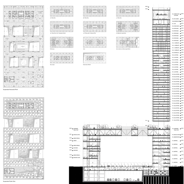 "Manhattan, New York, US, high-rise, master thesis, University of Architecture and Urban Planning ""Ion Mincu"", School of Architecture,  Bucharest, Romania, skyscraper, hybrid, Gabriel Mihaela"