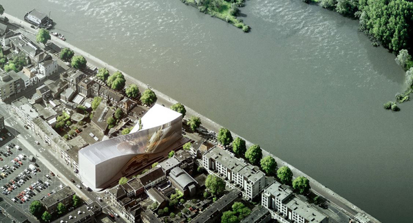 Big, bjarke ingels, Netherlands, Amsterdam, waterfront, arta, Allard Architecture, competition, museum, theater, film