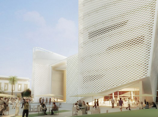 Casablanca, Christian Portzamparc, theater, architectural competition, first prize, natural ventilation, passive systems, CasArts