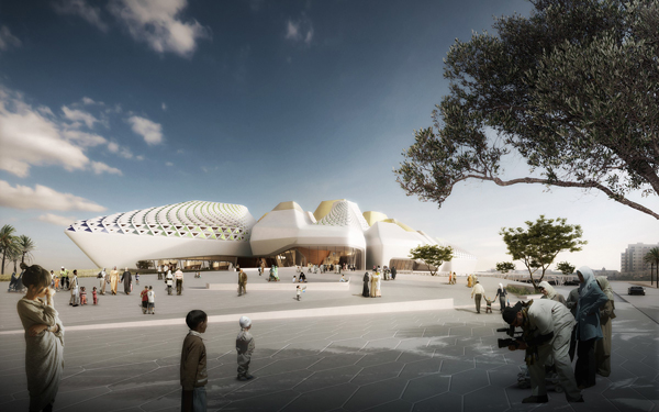 Algiers, Algeria, UNStudio, Ben Van Berkel, Grand Musée de l'Afrique, ARPC, Agence Nationale de Gestion des Realisations de Grands Projects de la Culture, Africa, museum design, aggregation