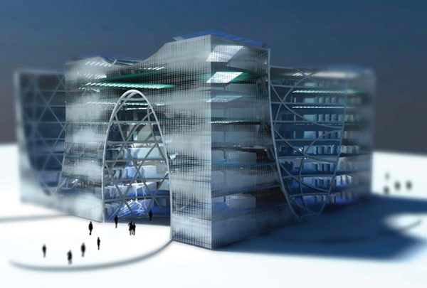 Architectural competition, big architects, big, Kazakhstan, lava architects, library, iconic, astana