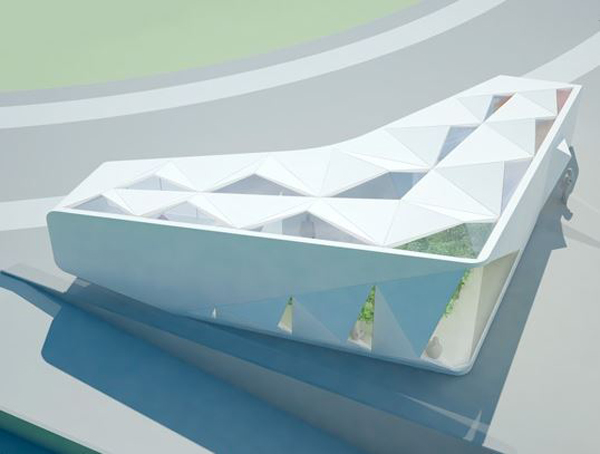 GXN, 3XN, sustainable, innovation, green design, pavilion, recyclable, degradable, Denmark, efficient design