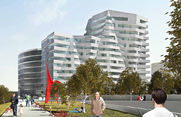 Residential Tower Informed By Olympic Sculpture Garden / Perkins+Will