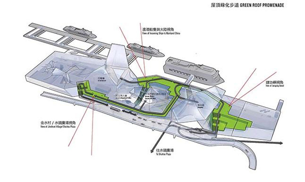 Tom Wiskombe, Kinmen Passenger Service Center, Kinmen, China, traditional architecture, Xiamen, Tom Wiskombe Architecture
