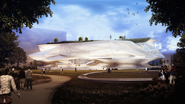Taiwan, Taichung, SDA, Synthesis Design+Architecture, competition, library, museum, pattern, landscape, dynamic, cultural facility, park