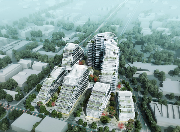 The Bass and Flinders Gateway development, Australia, Wollongong, New South Wales, Spark, mixed-use, residential, complex, playful
