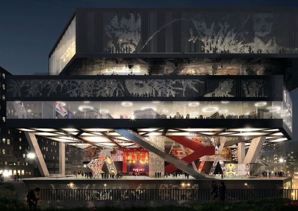 West Kowloon, Mecanoo Architecten, Mecanoo, multifunctional, cultural facility, china, architectural competition, opera