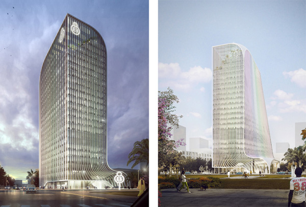 Architectural competition, competition, LAVA, Laboratory for Visionary Architecture, Ethiopia, oromia, proposal, high-tech, tower, skyscraper, sustainable design, sustainable