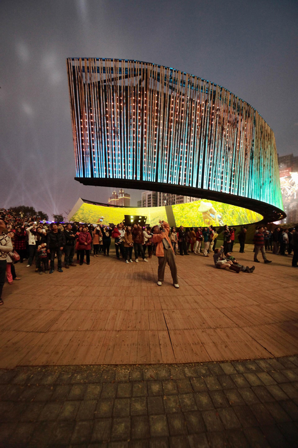 Taiwan, china, the ring of celestial bliss, Chinese new year, LED, traditional, ring, hovering, J.J.Pan and Partners