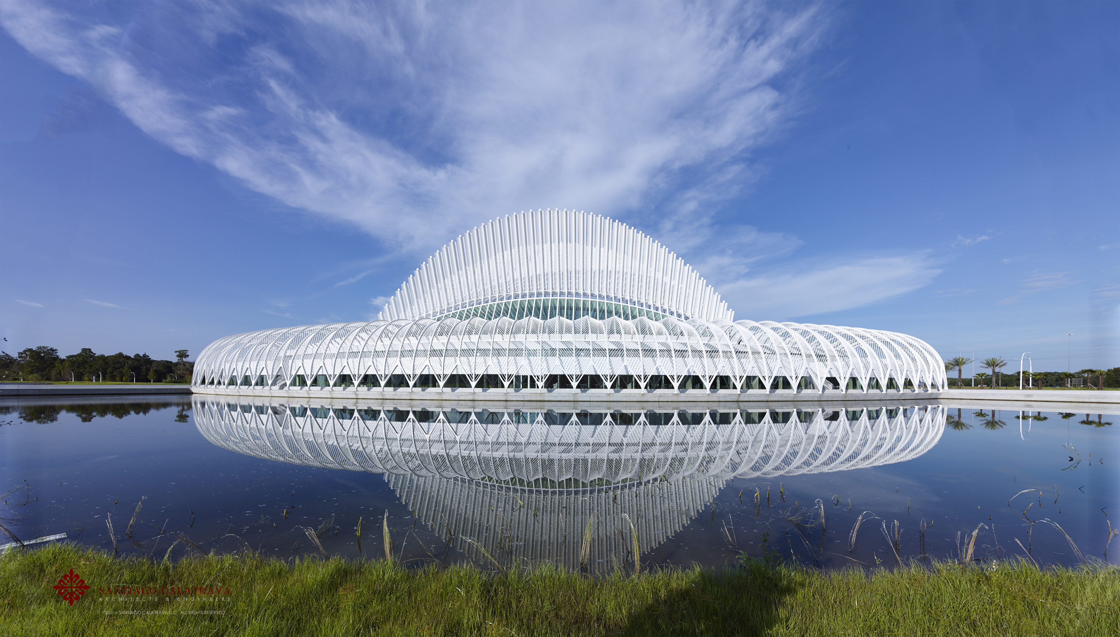 Santiago calatrava designed florida polytechnic university for Architect florida